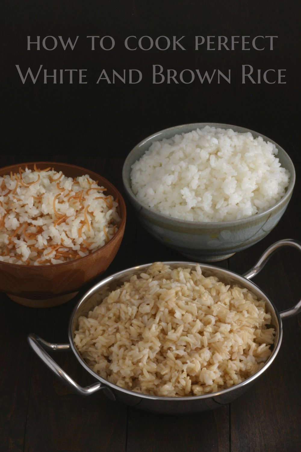 Basic White And Brown Rice Lands & Flavors