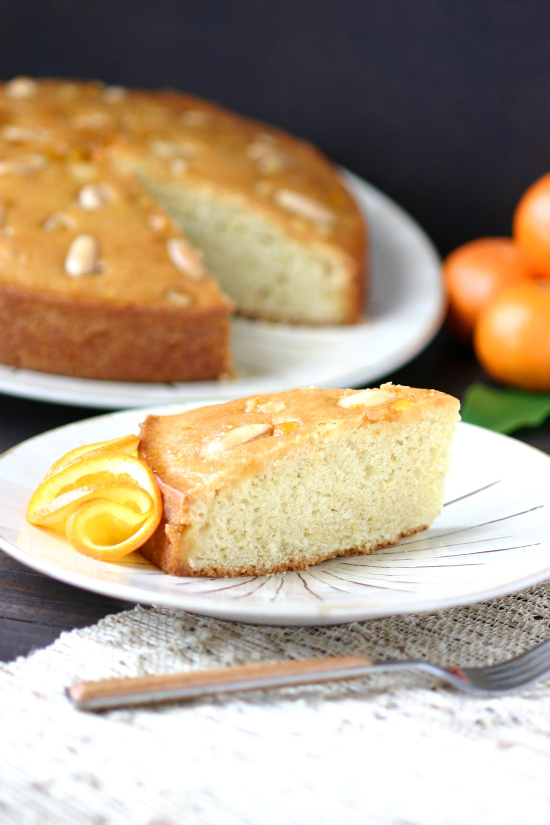 Almond Citrus Olive Oil Cake Recipe